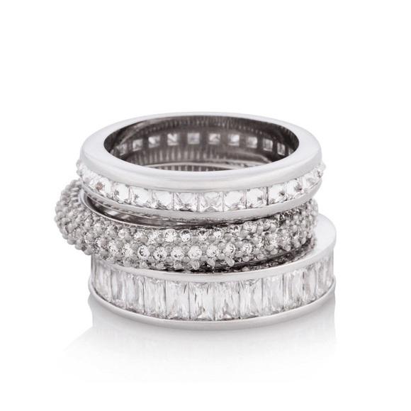 bf47f6243 Henri Bendel Jewelry | Stack Ring Set | Poshmark